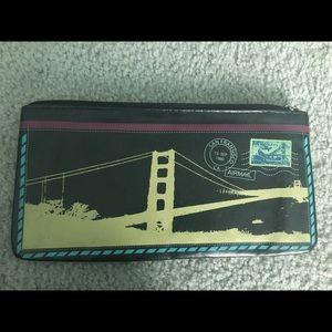 Envelope patterned wallet